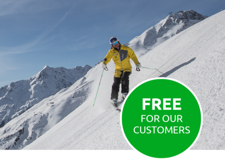 Free for our customers