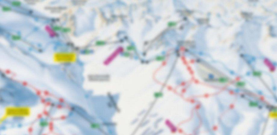 Skigebietsplan  von Sölden